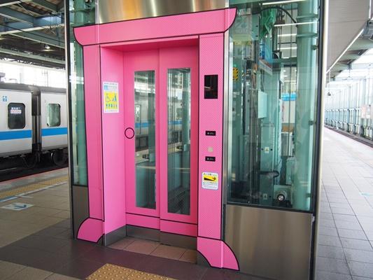 小田急線登戸駅どこでもドア