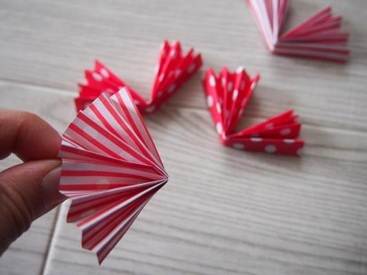 折り紙ロゼットの作りかた
