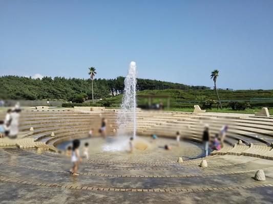 湘南海岸公園噴水広場