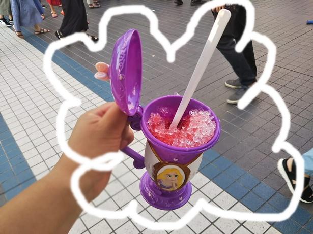 ディズニーオンアイスかき氷