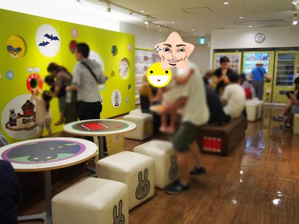 NHKスタジオパーク どーもくん休憩コーナー