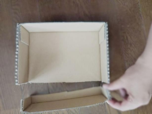 箱を切ってみました