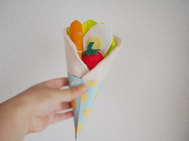 野菜系クレープ