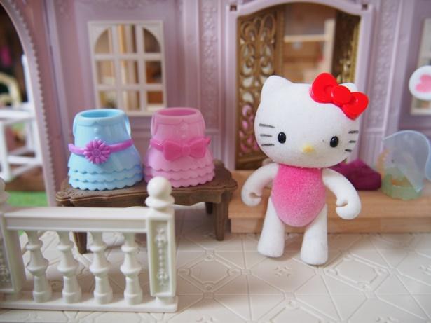 ダイソーキティちゃん人形