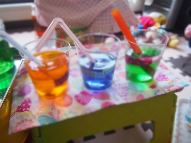 色水ジュース屋さん